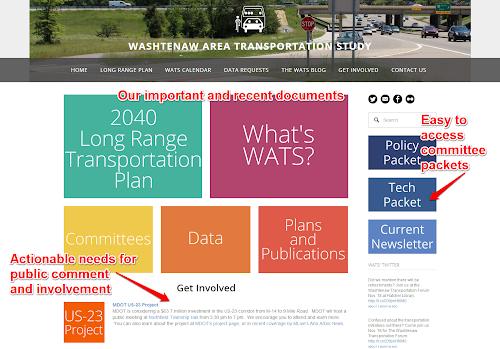 MDOT I-94 Business Loop Improvement Open House | WATS Transportation
