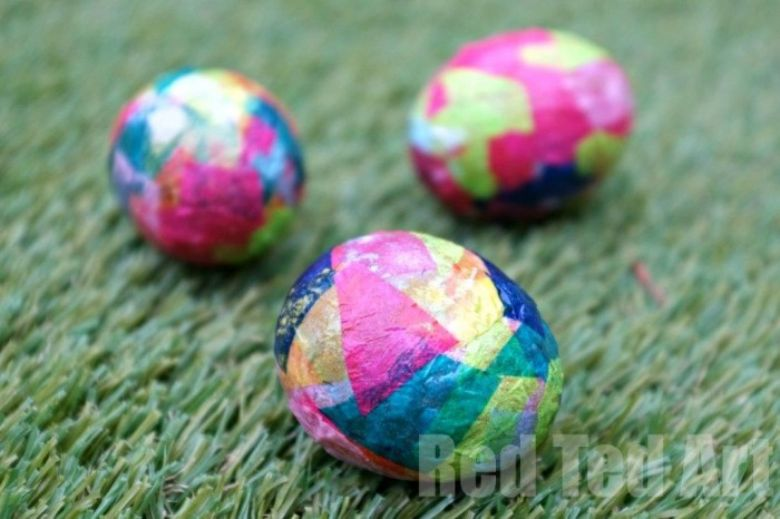 Easter egg decorating ideas - Eric Carle Easter Eggs