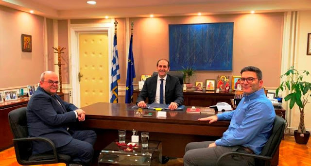 Απόστολος Βεσυρόπουλος : «Το φυσικό αέριο έρχεται σε Βέροια και Αλεξάνδρεια. Τα έργα αρχίζουν μέχρι το τέλος του 2020»