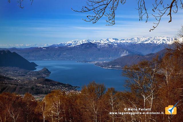 Il lago Maggiore da Pian di Runo