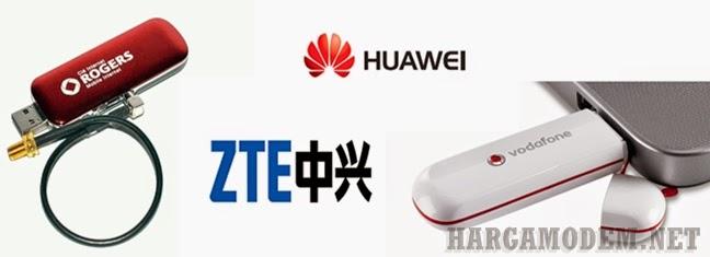Harga Modem ZTE & Huawei Terbaik