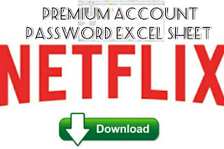 Netflix premium account password