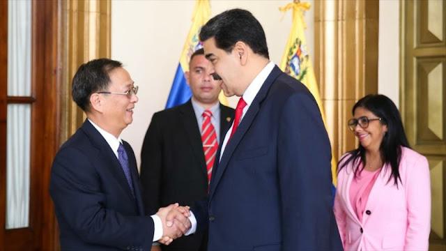 Maduro alaba lazos de hermandad con China ante presiones de EEUU