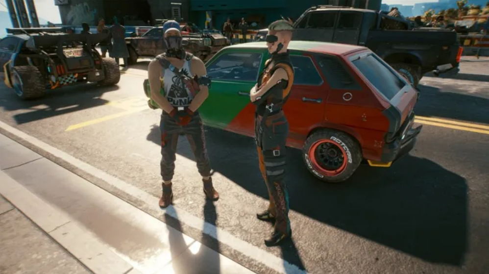 Cyberpunk 2077 screenwriter talks about the tragic Easter egg in the game