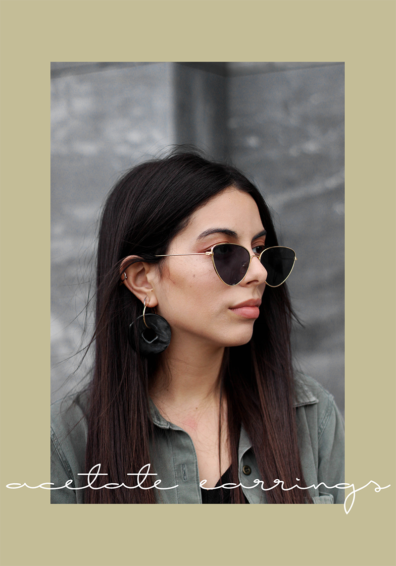 Trend Crush | Acetate Earrings