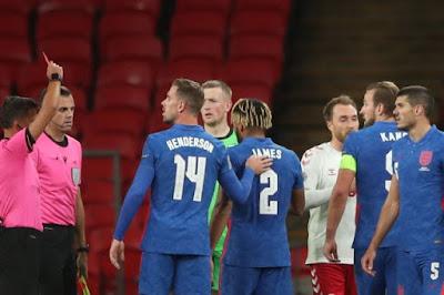 ملخص وهدف فوز الدنمارك علي انجلترا (1-0) دوري الامم الاوروبية