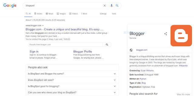 गूगल पे अपनी फ्री की वेबसाइट बना के कैसे पैसे कमाए  How to create a blog website free and make money in Hindi