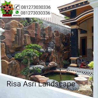 Jasa pembuatan dekorasi kolam tebing , taman , relif , air terjun Jakarta   tukang kolam tebing Jakarta   tukang taman jakarta.