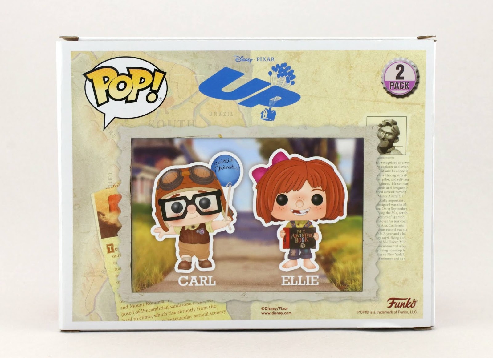 up carl and ellie funko pop review