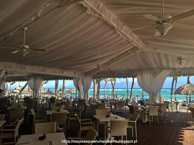 REPÚBLICA DOMINICANA Resort Bahia Principe, Restaurante Praia