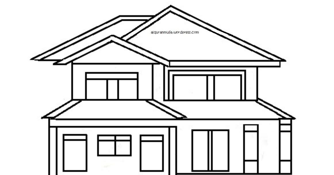 Kumpulan 48 Desain Rumah Sederhana Hitam Putih Terbaik Dan Terupdate Generasi Arsitek
