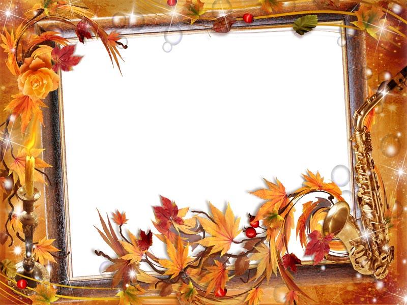 autumn png frame | png frame