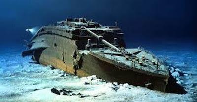 Destroços-do-Titanic