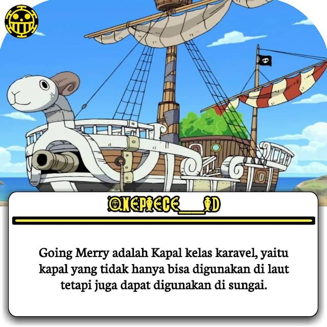 Fakta jenis dari kapal Going Merry
