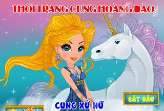 Game thời trang cung Xu Nu thu vi