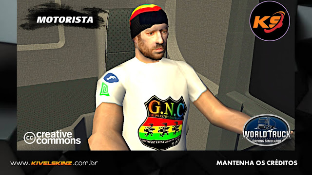 SKINS MOTORISTA - GRUPO NATIVOS DA CHAPADA 01