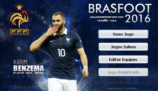 Skin Karim Benzema - França para Brasfoot 2016