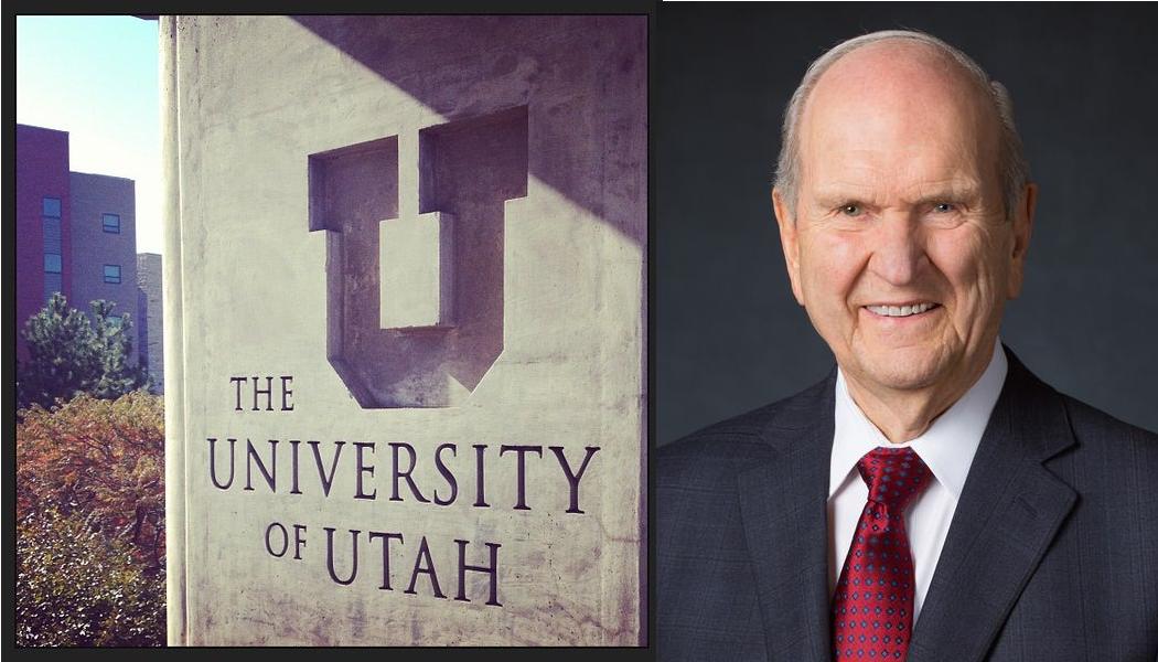 Presidente Nelson recibe doctorado en Universidad de Utah