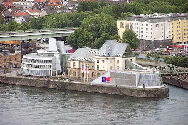 Localização do Museu do Chocolate em Colônia
