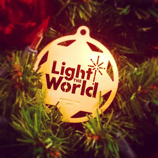 Light The World Christmas Ornament
