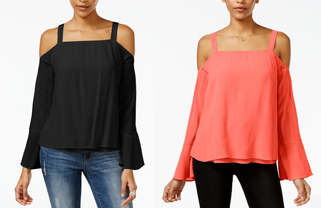 Sanctuary Melody Cold Shoulder Top $38 (reg $79)