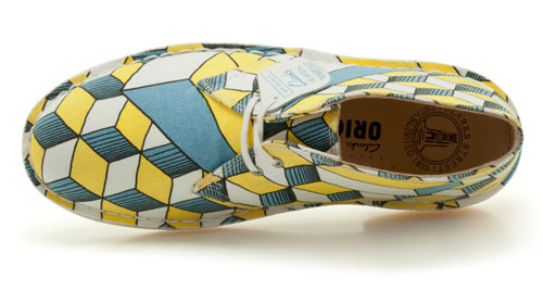 Diseño de zapatos  con patron