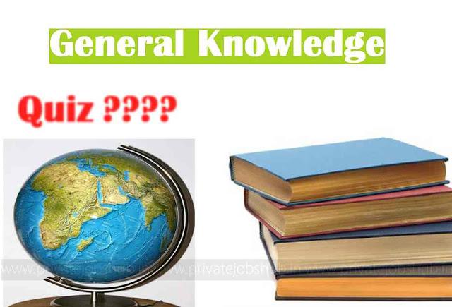 GK Questions 13th September 2017 PJH