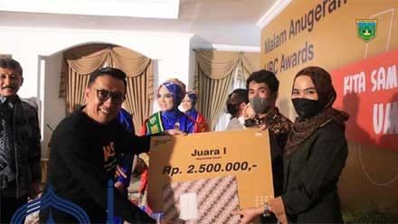 Malam Anugerah UMKM Review Contest Award 2021