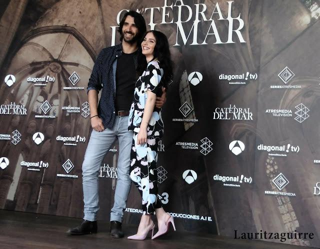 Aitor Luna y Andrea Duro