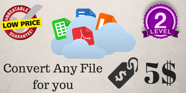 Convert your files