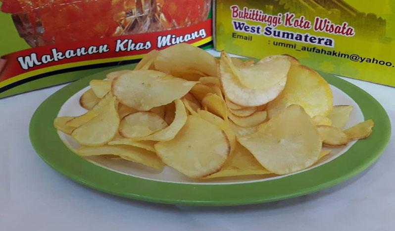 Keripik Balado Durian Shirley