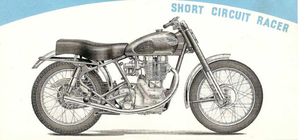 Royal Enfield Short Circuit Racer.