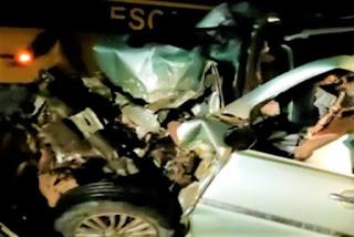 Colisão frontal entre ônibus e veículo deixa um morto e quatro feridos em Anagé