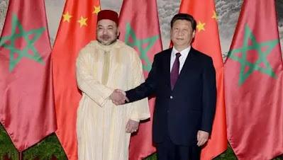 انشطة ملكية : الملك محمد السادس نصره الله يهنّئ الرئيس الصيني بالعيد الوطني