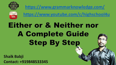 Either or Neither nor A Complete Guide Step By Step