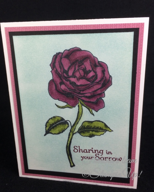 Thoughts and Prayers, Graceful Garden, Frenchie' Team, Stampin'Up!