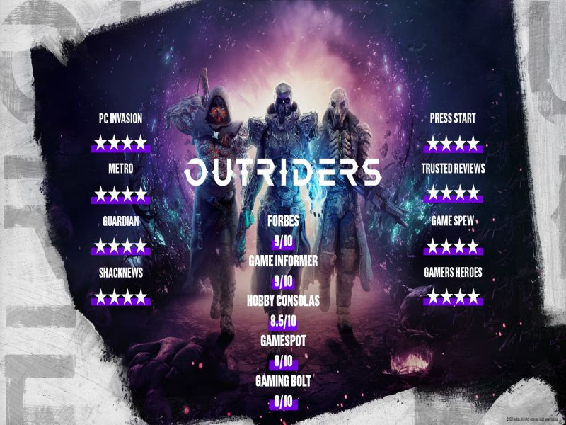 Download OUTRIDERS Game Setup Exe
