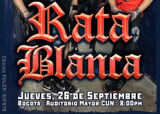 Concierto de Rata Blanca by Request en Bogotá 2019