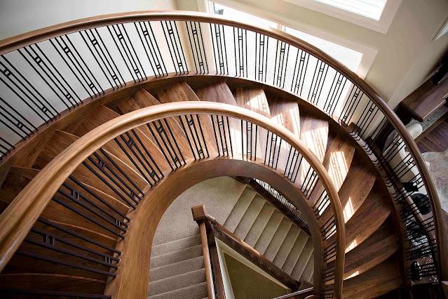 أنواع الدرج او السلالم الانشائية