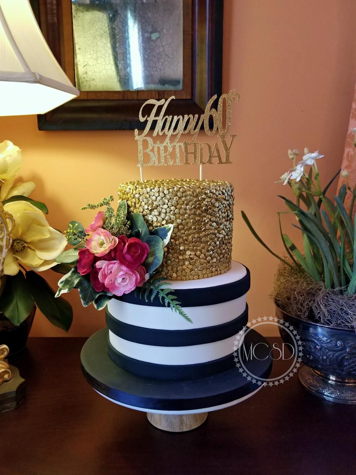 MyCakeSweetDreams: Kate Spade Inspired Birthday cake