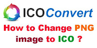 How to Change PNG Image to ICO Format?