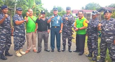 Bersama Lantamal II, Ratusan Siswa Baru MAN 3 Padang Adakan Bakti Madrasah Untuk Masyarakat