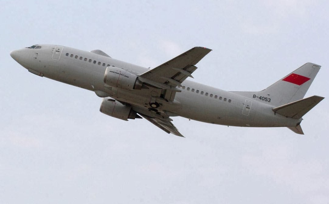 Chinese Boeing-737 Airborne Command and Control Aircraft | Chinese