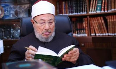 وفاة الشيخ الدكتور يوسف القرضاوي اشاعات كاذبة