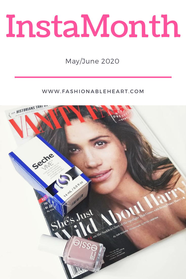 bblogger, bbloggers, bbloggerca, bbloggersca, canadian beauty bloggers, beauty blog, lifestyle blogger, instagram, roundup, instamonth, vanity fair, meghan markle, essie, lady like, seche vive, gel top coat, throwback thursday