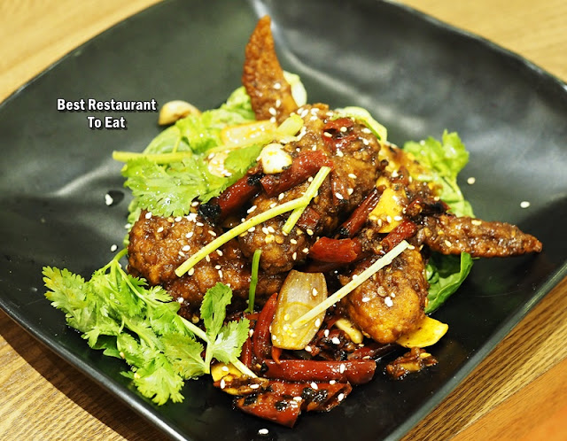 HotPot Kitchen Menu - Ma Lat Chicken Wings