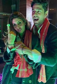 Sidharth Malhotra With Shweta Bachchan