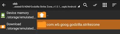 تحميل لعبة GodZilla Strike Zone للاندرويد