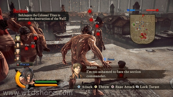 Attack on Titan Wings of Freedom Highly Compressed