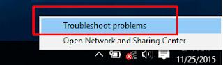 mengatasi wifi windows 10 yang putus